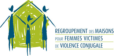 Logo : Regroupement des maisons pour femmes victimes de violence conjugale (Groupe CNW/Regroupement des maisons pour femmes victimes de violence conjugale)