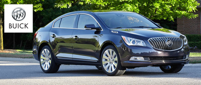 The Buick LaCrosse is available now at Palmen Buick GMC Cadillac.