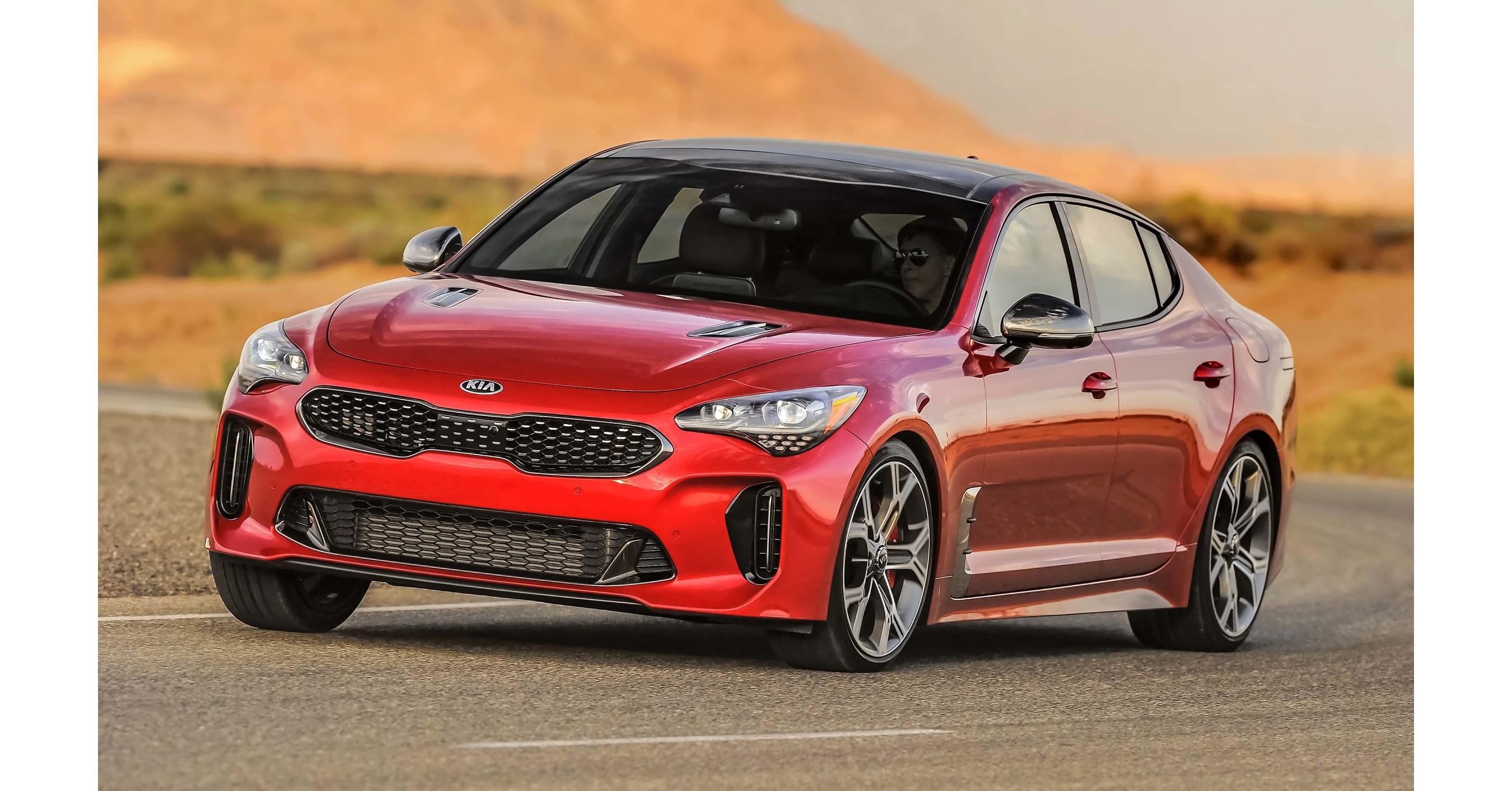 Kia stinger named finalist for 2018 north american car of for Kia motors usa com