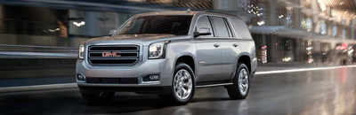 The GMC Yukon is available now at Palmen Buick GMC Cadillac.
