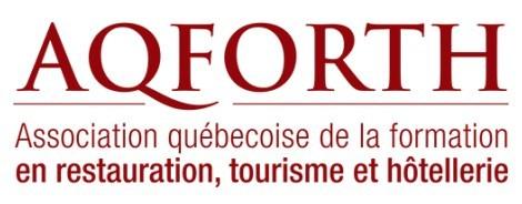 Logo : Association québécoise de la formation en restauration, tourisme et hôtellerie (Groupe CNW/Institut de tourisme et d'hôtellerie du Québec)
