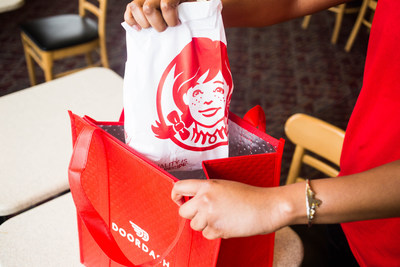 Wendy's teams with DoorDash to launch its first-ever delivery partnership to bring deliciously different food right to customers' doors.
