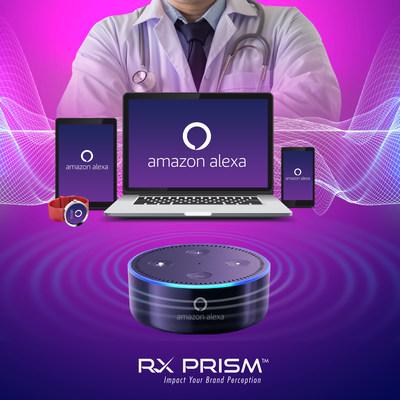 Alexa-powered Artificial Intelligence Solution (PRNewsfoto/RxPrism Health Systems Pvt Ltd)