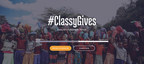 On #GivingTuesday, the Classy staff reached their initial fundraising goal of $30,000 for ClassyGives, an annual philanthropic initiative where the Classy staff bands together as a community to fundraise for a Classy Award winner.