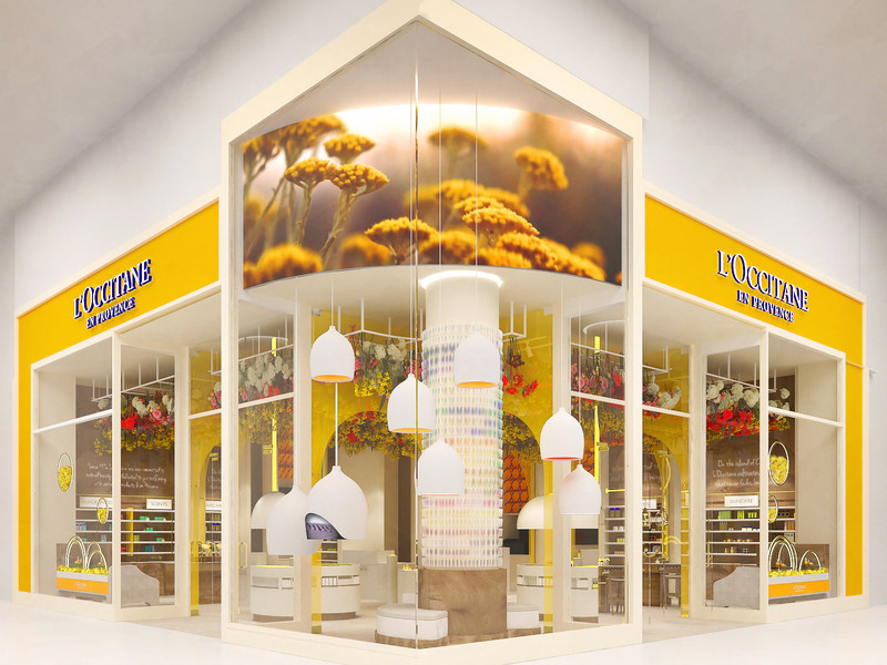 L'Occitane Opens its First Immersive Digital Flagship Store at Yorkdale Shopping Centre (CNW Group/L'Occitane en Provence)