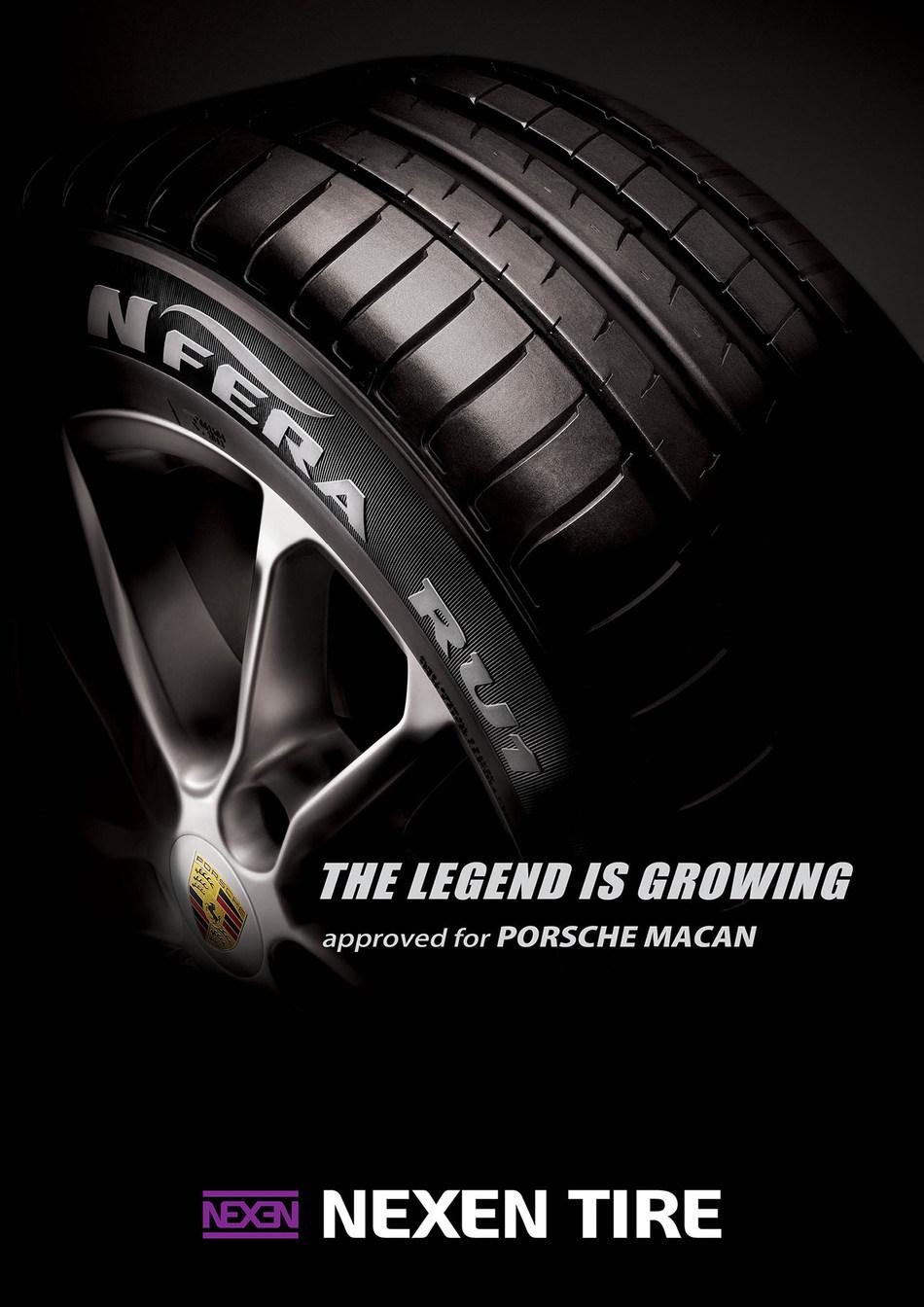 Nexen Tire Supplies Original Equipment Tires for Porsche Macan