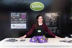Kalettes, a natural cross between kale and Brussels sprouts, opened first-ever pop-up shop for fresh vegetables at Hoxton's Railway Arch, Geffrye Street, London. (PRNewsfoto/Kalettes)