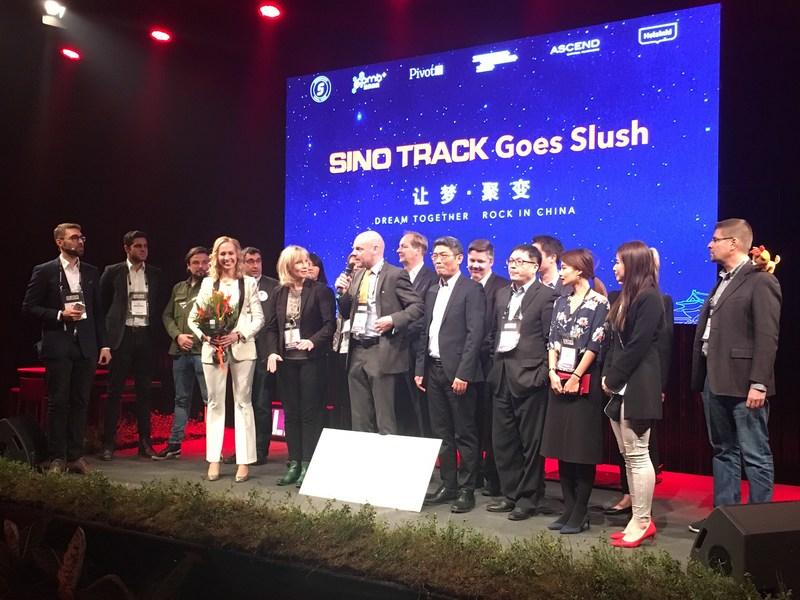 Sino Track Goes Slush - Group photo
