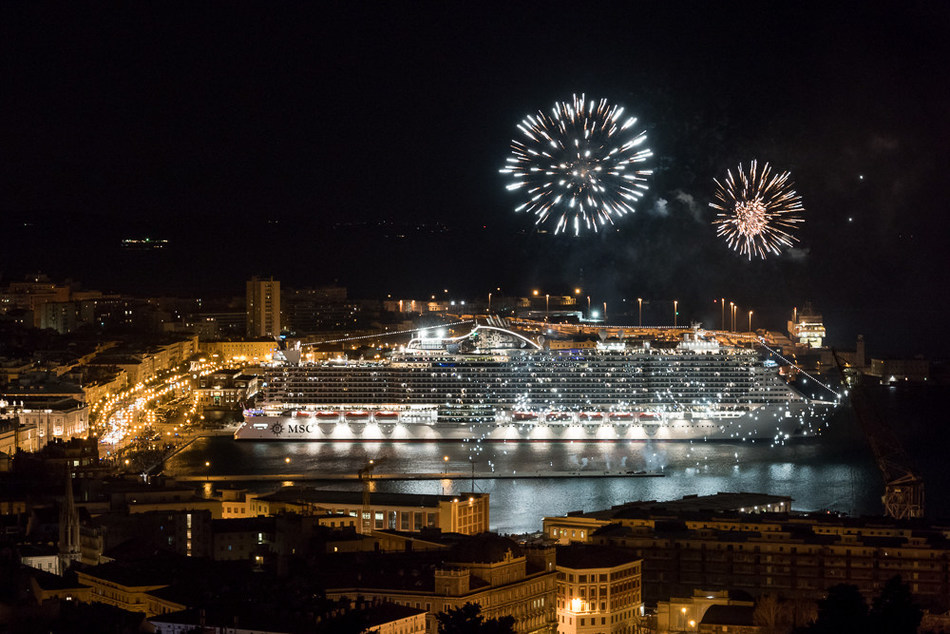 MSC Cruises officially celebrated the coming into service of its newest flagship, MSC Seaside, as she sets sail for new home in Miami.