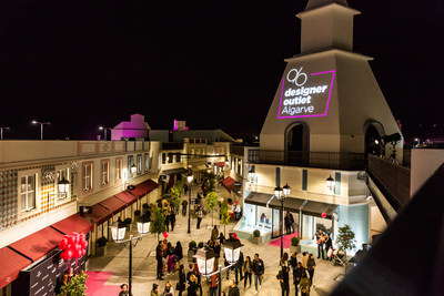 Designer Outlet Algarve – the new premium outlet village in Southern Portugal, managed by ROS Retail Outlet Shopping (PRNewsfoto/ROS Retail Outlet Shopping)