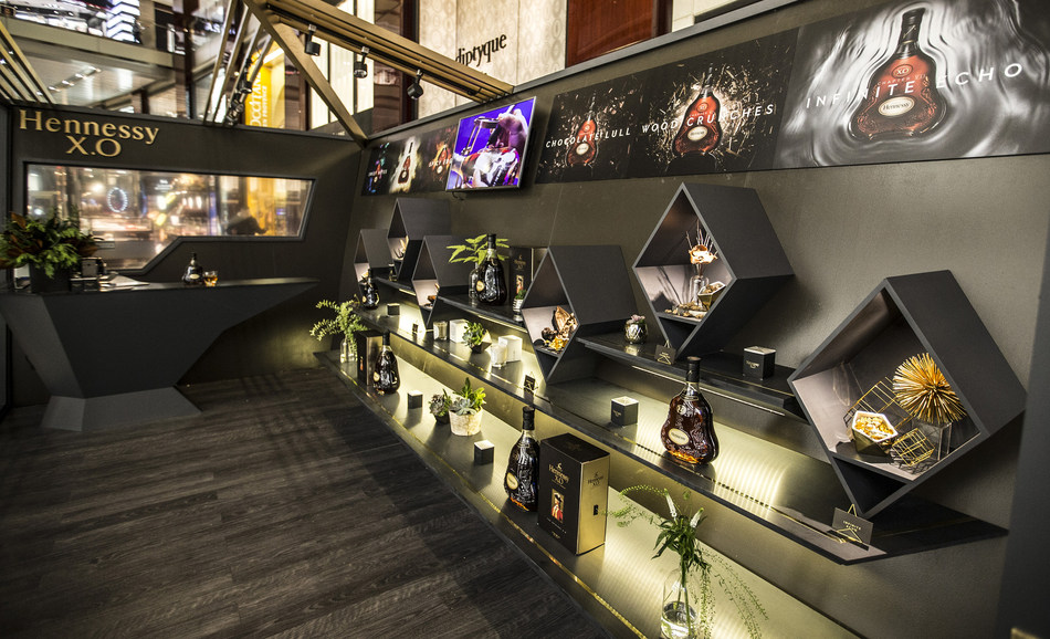 The Hennessy X.O Odyssey Experience is open at The Shops at Columbus Circle from now through December 12th.