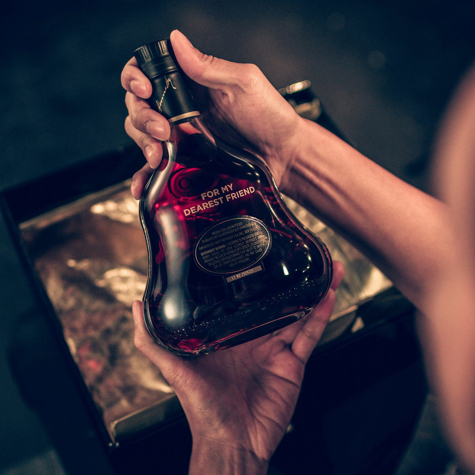 Shoppers are invited to bring a bottle of Hennessy X.O, the world's original X.O Cognac, to The Odyssey Experience at The Shops at Columbus Circle to receive complimentary bottle engraving and gift wrapping.