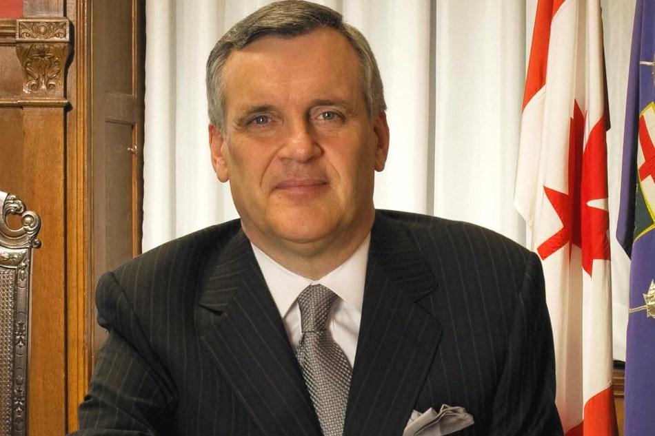 Honourable David Onley (CNW Group/The Canadian Hearing Society)