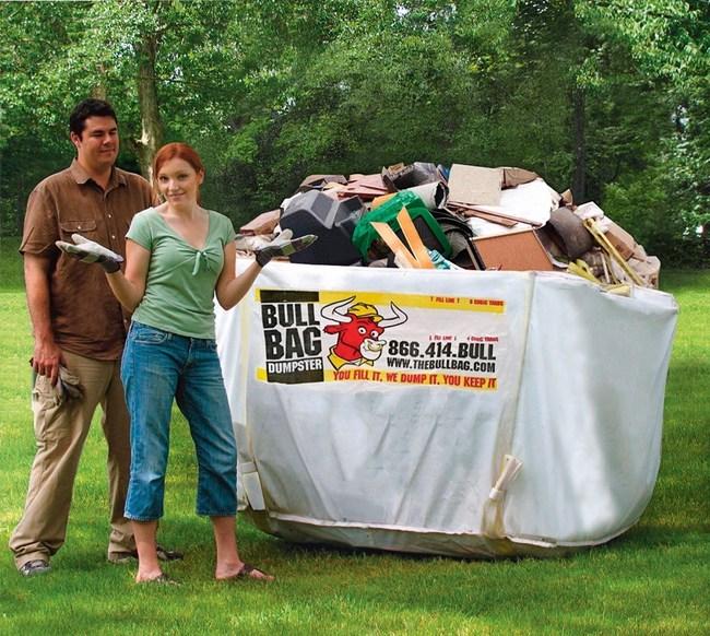BullBag Reusable Dumpster Bag