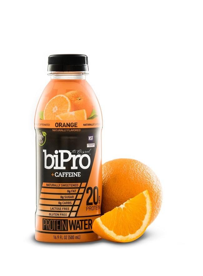 BiPro +Caffeine Orange Protein Water