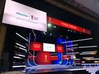 La téléviseur laser de Hisense brille au Kremlin (PRNewsfoto/Hisense)