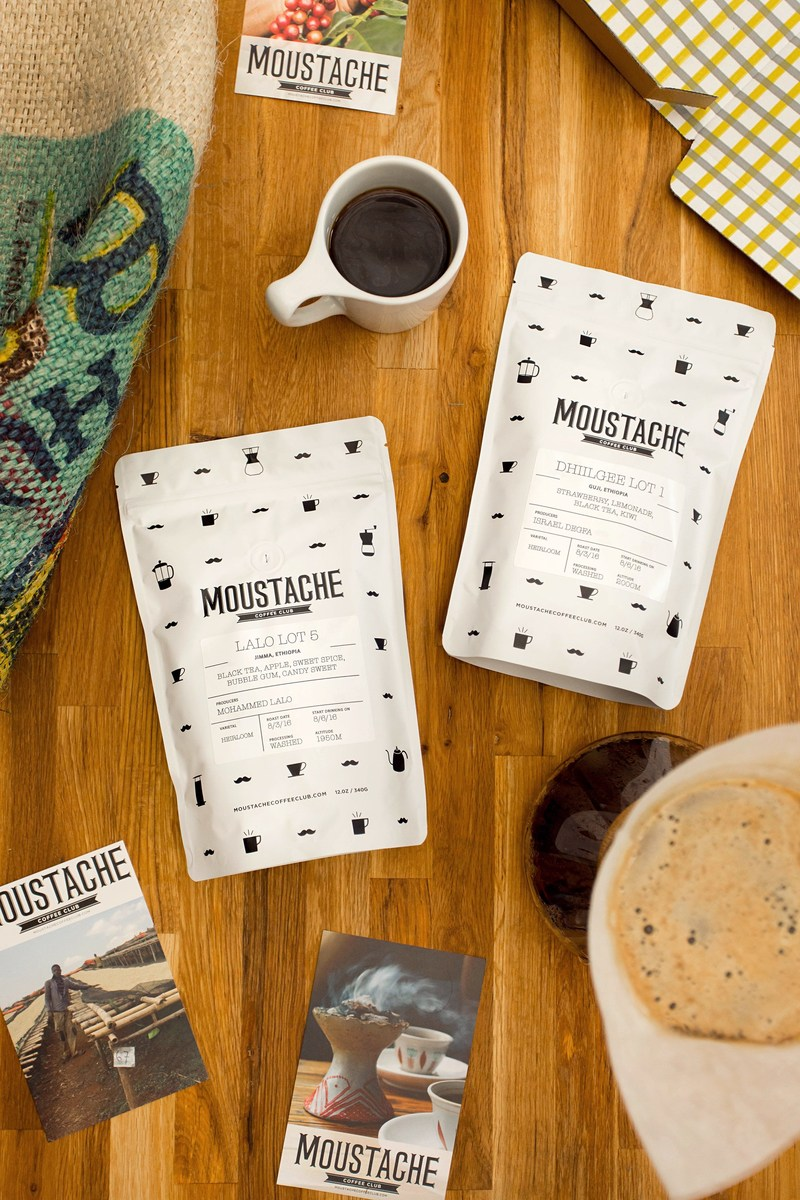Moustache Coffee Club: Premium Single Origin Coffee by Subscription