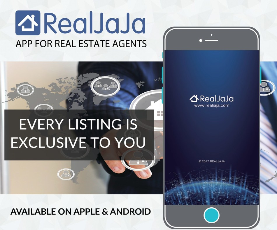 RealJaja is the only real estate marketing app to make every listing exclusive to an agent