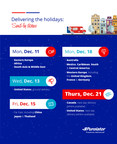 Delivering the holidays: Send-by dates (CNW Group/Purolator Inc.)
