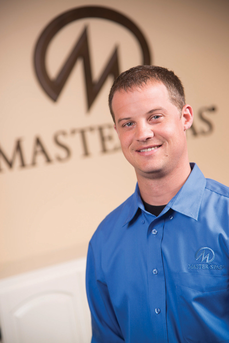 Nathan Coelho, Vice President of Engineering at Master Spas