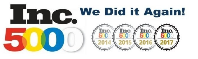 INC 5000 - IT Partners Has a 3-year Growth of 562% in 2017