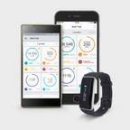 Smart Bracelets ONETRAK C Pulse synchronizes with iOS and Android smartphones (PRNewsfoto/ONETRAK)