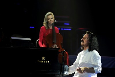 Yanni's Concert in Jeddah (PRNewsfoto/General Entertainment Authority)