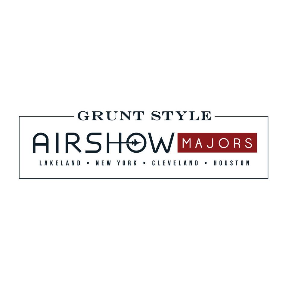 Grunt Style Air Show Majors logo (PRNewsfoto/Grunt Style Air Show Majors)