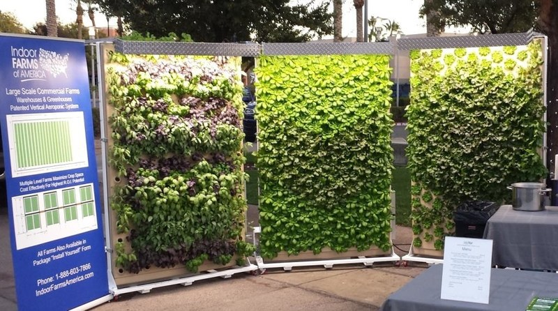 Fresh Farms of America uses the vertical aeroponics of Indoor Farms of America