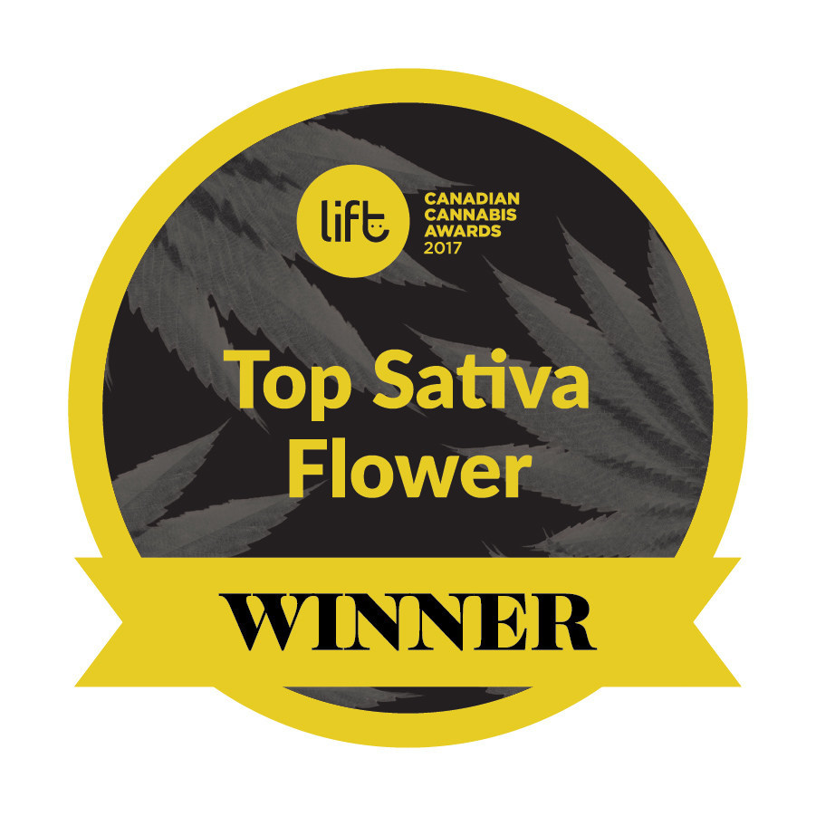 Top Sativa Flower Winner - Wabanaki, Organigram (CNW Group/OrganiGram)