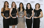 The 2017 L'Oréal USA For Women in Science Fellows. Courtesy of L'Oréal USA. (PRNewsfoto/L'Oreal USA)