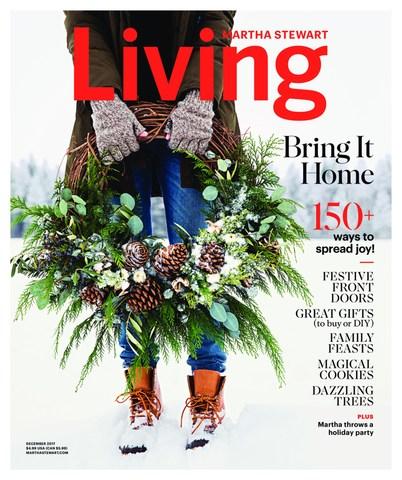 Martha Stewart Living, December 2017