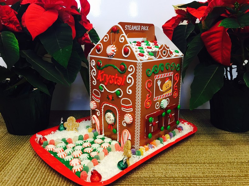 Krystal Celebrates National Gingerbread Day with a Gingerbread Themed Multi-Pack Box!