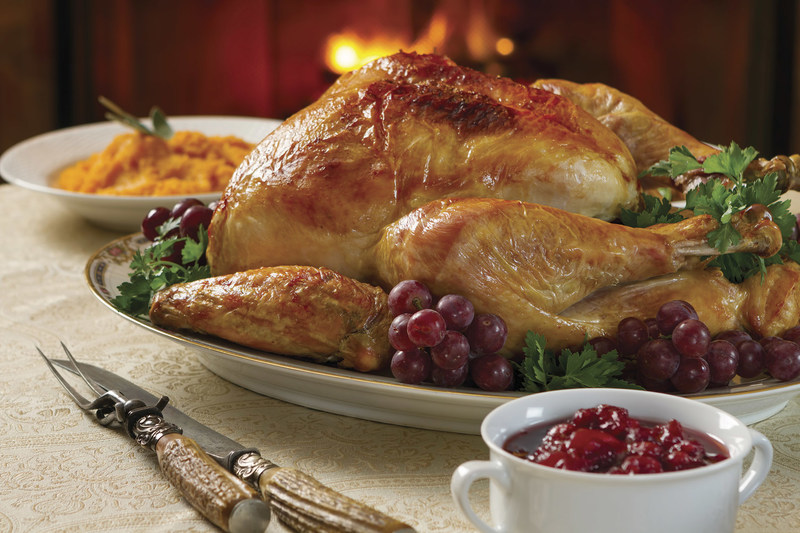 Turkey with fixings