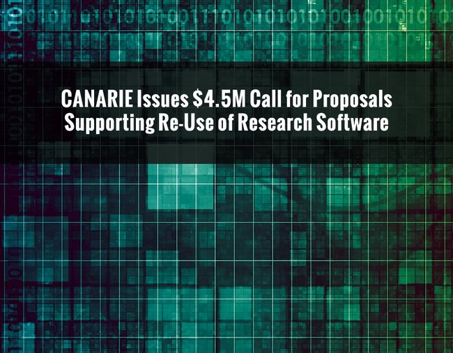 Funding to be awarded for the modification and maintenance of existing platforms to meet needs of new research teams (CNW Group/CANARIE Inc.)