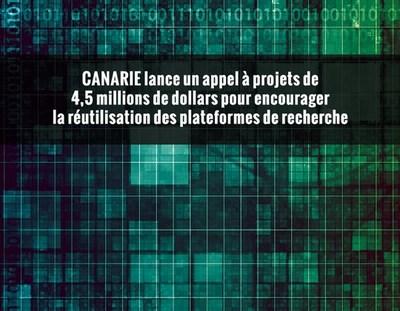Les fonds serviront à modifier et à entretenir les plateformes existantes afin qu'elles répondent aux besoins d'autres équipes de recherche (Groupe CNW/CANARIE Inc.)