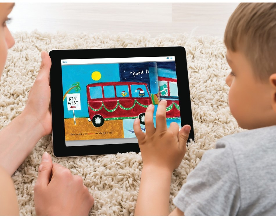 The immersive new eReader technology on hoopla digital allows graphics to appear just as it would in a physical book.