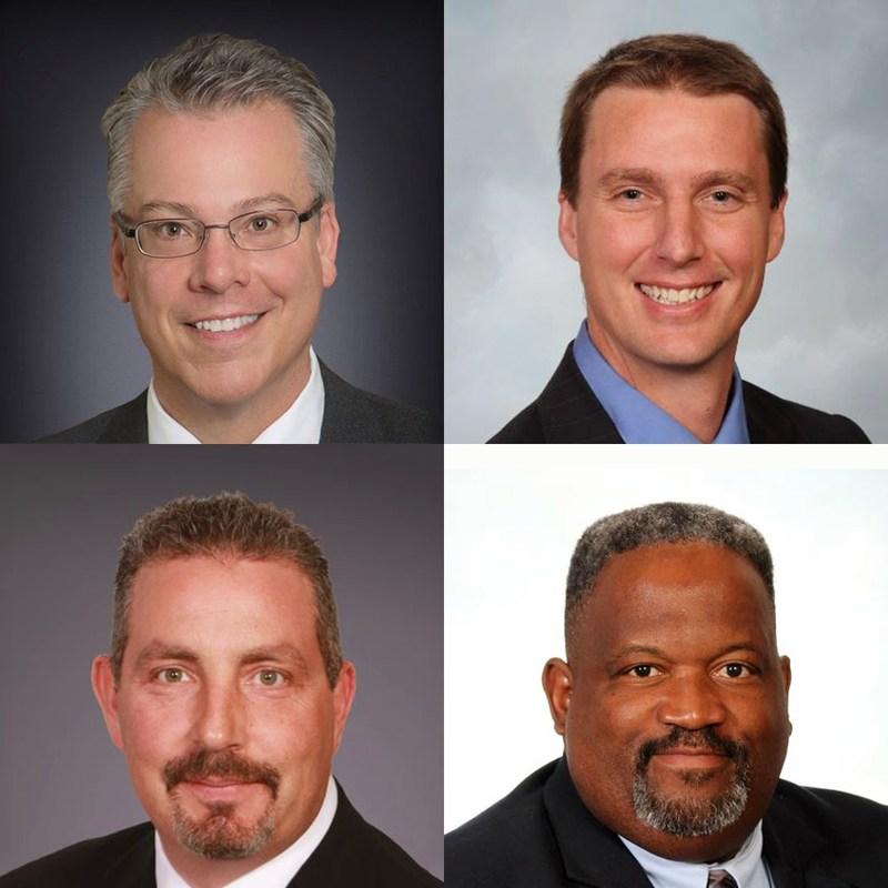 CABLExpress experts (top): Dave Fredricks, Josh Taylor, Rick Dallmann and Rob Jordan.