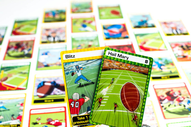 The BLITZ and HAIL MARY cards are two of the most powerful cards in the Blitz Champz deck.