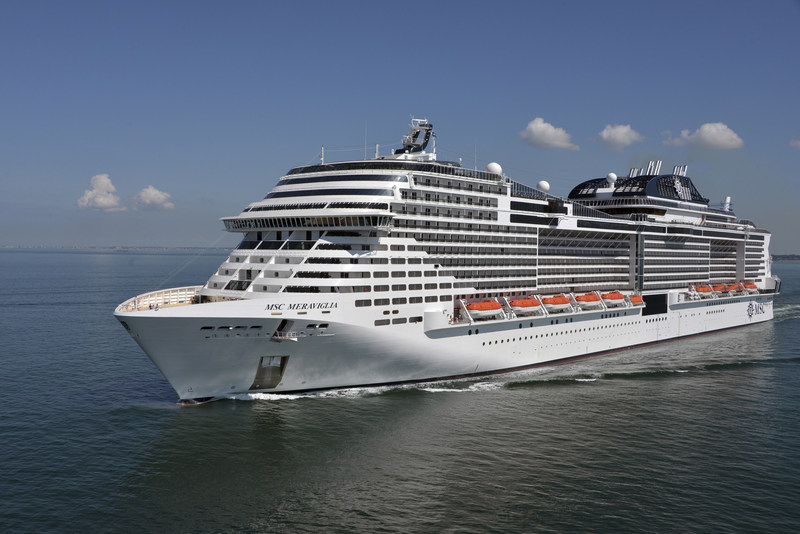 MSC Cruises Mega Ship MSC Meraviglia To Offer Three Itineraries - Cruises departing from ny