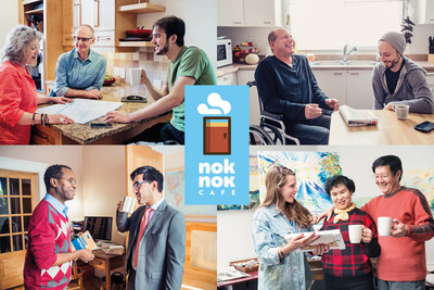 ''Open your home coffee shop'' - Nok Nok CAFE is now expanding in Ontario (CNW Group/Nok Nok Café Inc.)