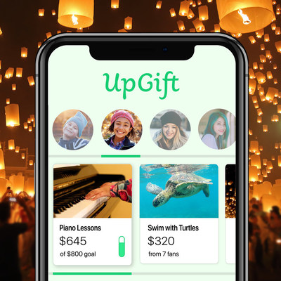 """UpGift Re-Invents the """"Present"""", Launches Wishlist for Life."""