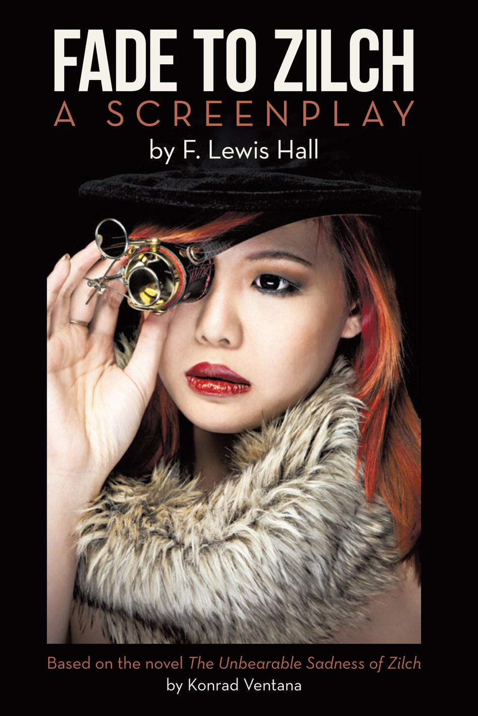 "Based on the novel, ""The Unbearable Sadness of Zilch"" by Konrad Ventana, the drama is a stunning commentary on modernism, existentialism, male egotism, and the emergence of a radical new brand of feminism—the feminist provocateur. Fade to Zilch by F. Lewis Hall is a story for the ages that lays bare the human heart as it presages current events."