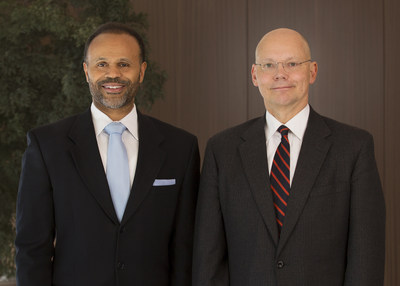 From left: Jon Harmon and Tracy Walker.