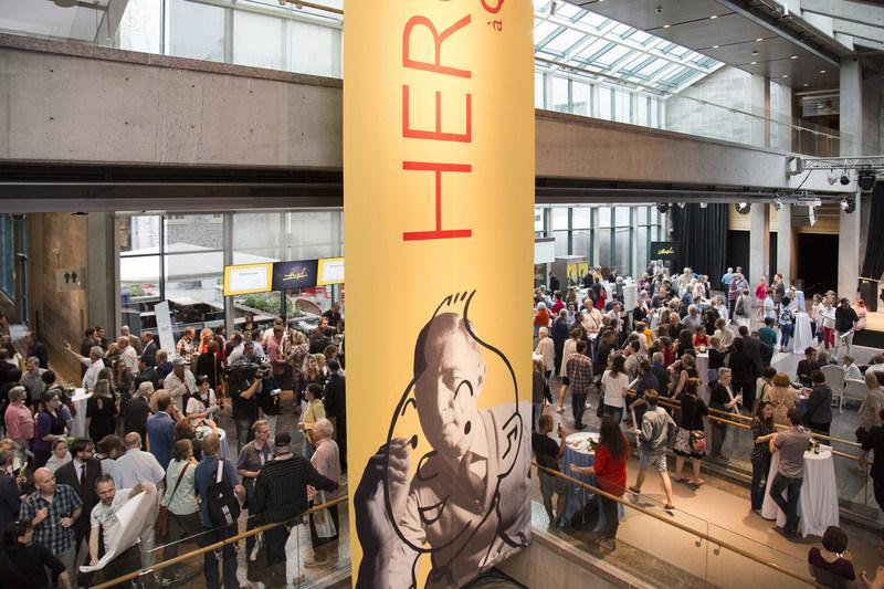 L'exposition Hergé à Québec au Musée de la civilisation fracasse des records historiques. (Groupe CNW/Musée de la civilisation)
