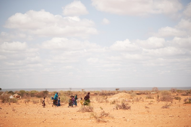 The region of Bakool in Somalia is at risk of severe famine in 2018, says aid agency Action Against Hunger. (Photo: Khadija Farah for Action Against Hunger, Bakool, Somalia.)
