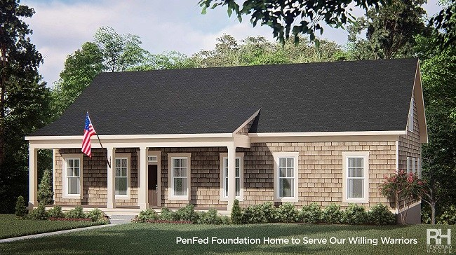 Artist Rendering from Evergreene Homes