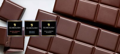 Seabourn is bringing new artisan K+M Chocolate aboard its fleet of ships, redefining and elevating the standard of an evening turndown sweet. K+M Chocolate is the work of Chef Thomas Keller and Italian olive oil producer Armando Manni, who teamed up to develop six decadent flavors including; Blood Orange Milk Chocolate, Sea Salt Dark Chocolate, Smoked Chili Milk Chocolate (pictured here), as well as Hazelnut Milk Chocolate, Milk Chocolate and Cherry Milk Chocolate.