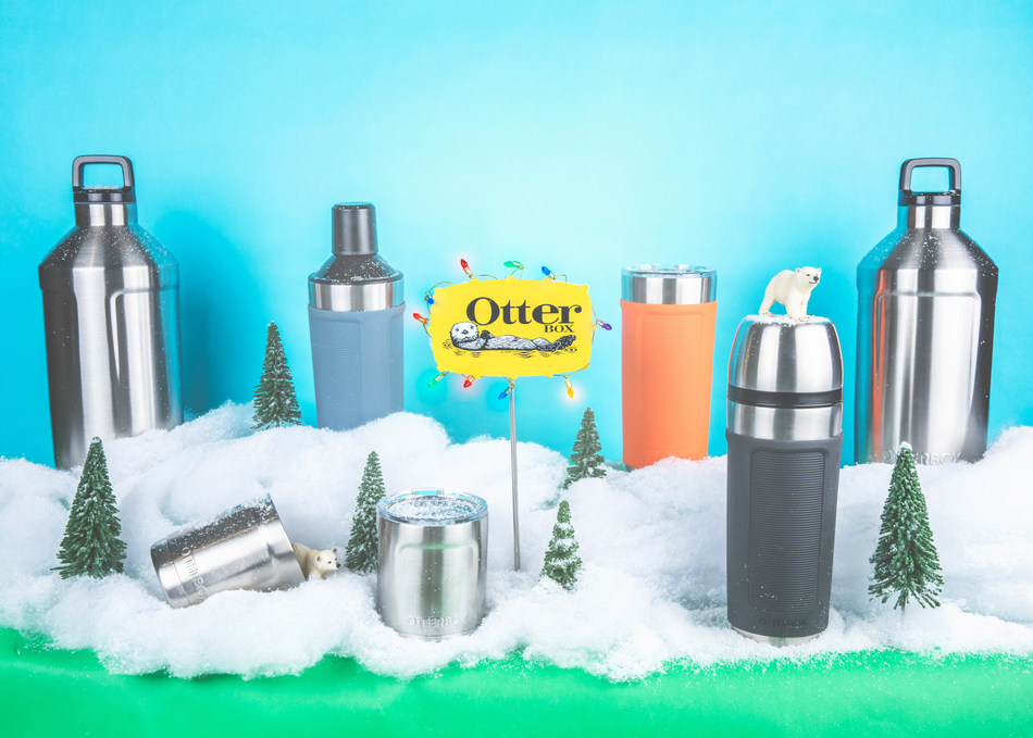 OtterBox Elevation Tumblers are the perfect stocking stuffer for just about anyone. They are the perfect gift that keeps hot coffee hot and cold smoothies cold.