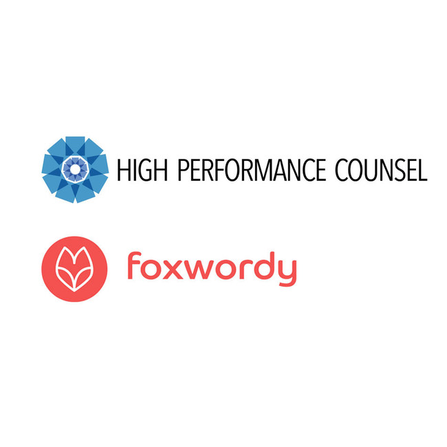 High Performance Counsel and Foxwordy Form Content Partnership - announced Dec. 5, 2017